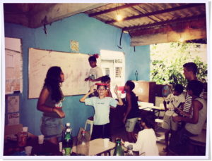 Bella Teaching English in Rio
