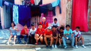 Adam Leese: Voluntariado na Argentina com treinamento de futebol