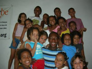Experience with the kids in a Rio Favela