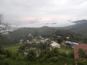 Las Tolas village where our Volunteer in Ecuador program takes place