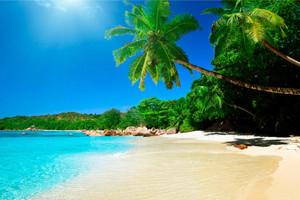 Voluntariado na Costa Rica - praia paradisiaca no litoral Caribenho