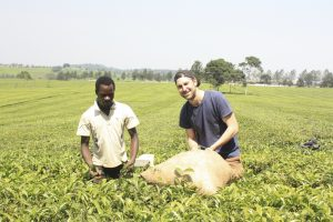 Volunteer in Uganda on the environment protection program