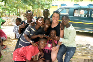Volunteer Work with the children in Ghana