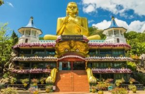 Volunteer in Sri Lanka - Golden Temple