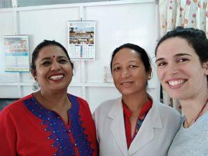 Rita Gomes: voluntária médica no Nepal