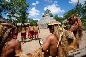 Peruvian Indios in Iquitos