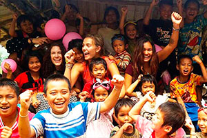 Volunteer in Thailand in a childcare project