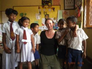 Voluntariado no Sri Lanka