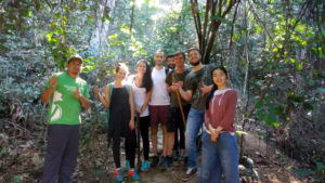 Volunteers preserving the Rainforest in Rio