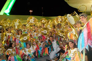Volunteer in Brazil on Carnival Preparation