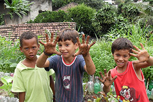 Volunteer in Brazil with the project community garden in Brazil