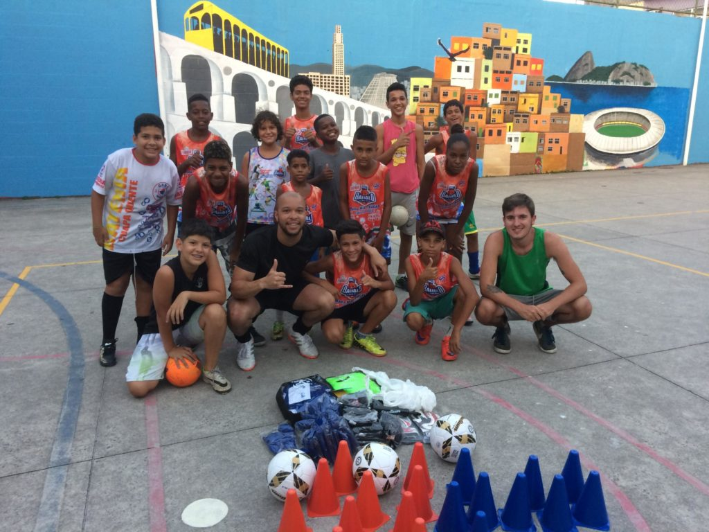 Sports development programme in Rio