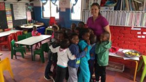 South Africa Child Care Volunteer - Cris Queiroga from Brazil