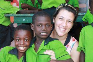 Volunteer Teaching English in Ghana