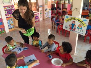 Volunteer with Child Care in Thailand
