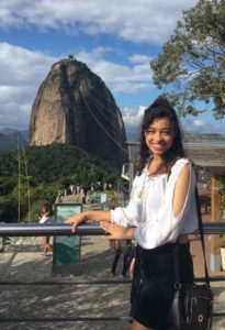 Jissaura Taveras, an Arts & Design Volunteer in Rio