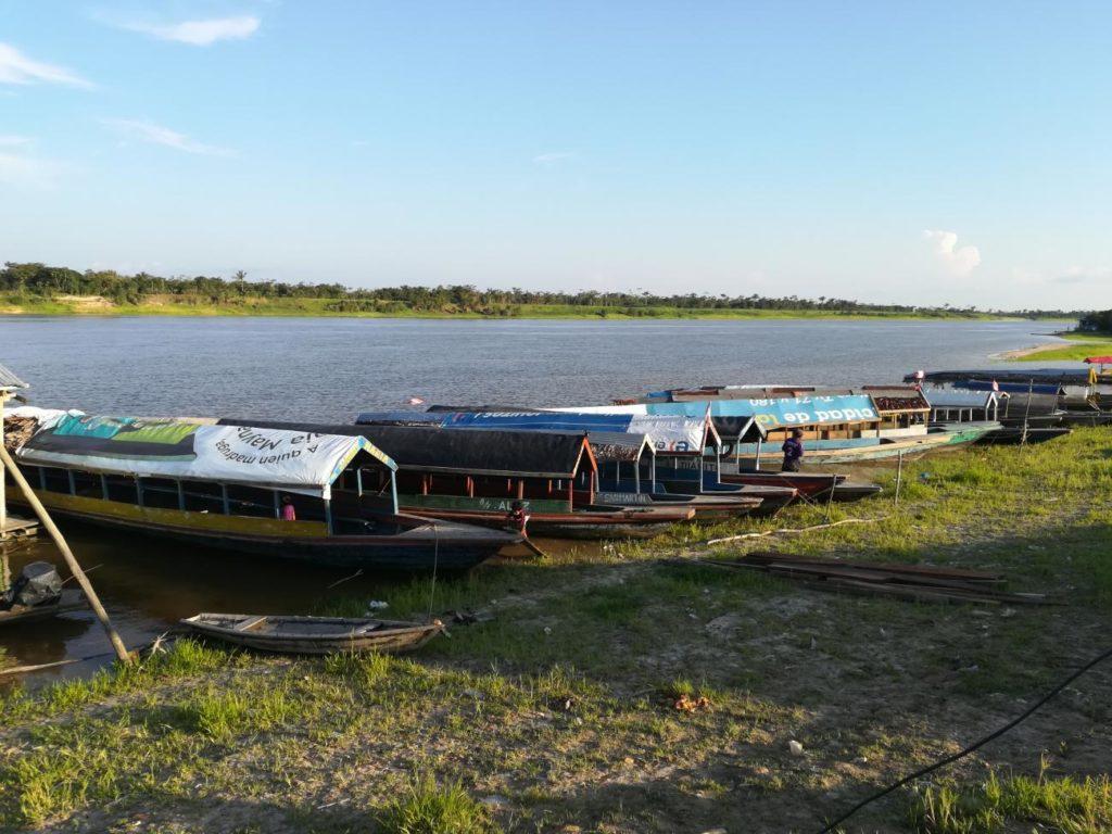 Marco: The Pier in Padre Cocha Peru