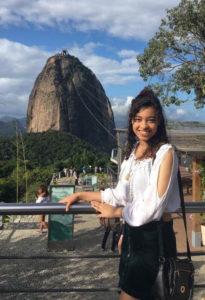 Jissaura Taveras - voluntário de Artes e Design no Rio