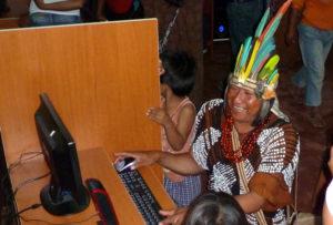 Imersão em um grupo étnico da Amazônia peruana