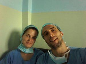 Médicos do Portugal participando do programa médico