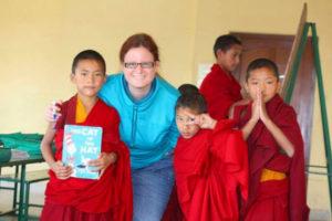 Ensine Inglês em um Monastério Budista