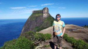 Destiny volunteering on Urban Environmentalism in Rio