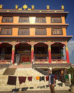 Teaching English in a monastery in Kathmandu