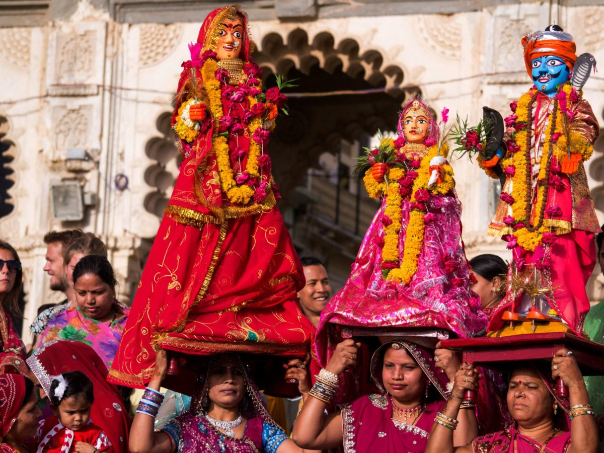 Procession in Jaipur