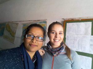 Antonia Bozzolo in Kathmandu