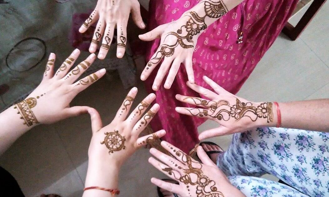 Heena tattoo workshop