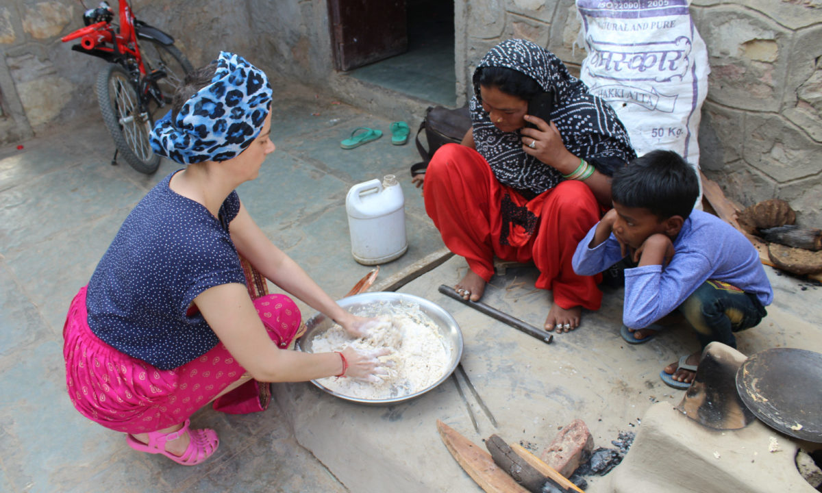 Learn to make chapati
