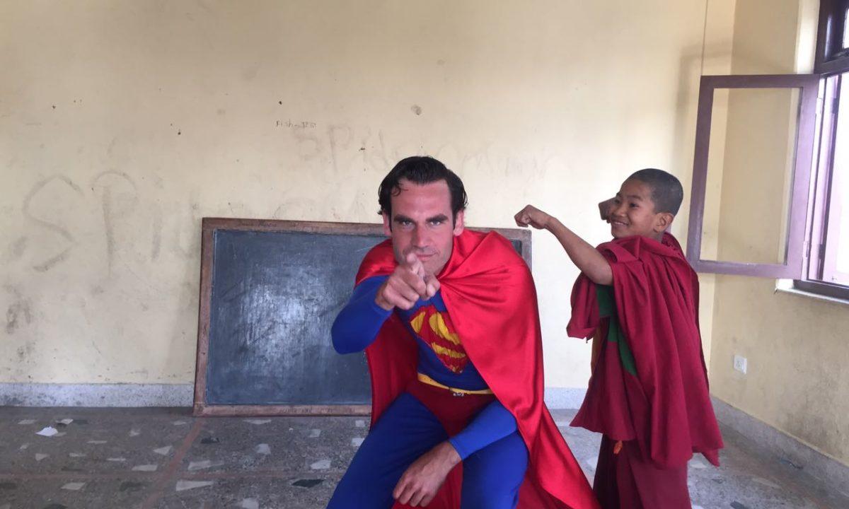 Lammert teaches English in a Buddhist Monastery in Kathmandu