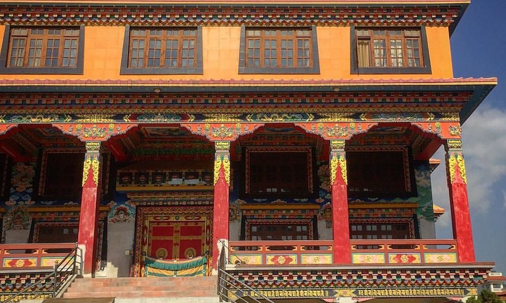 Monastery Arubaari Kathmandu- Lammer