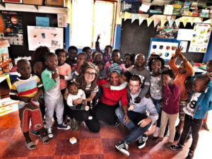 Enzo Klein Making children smile in South Africa