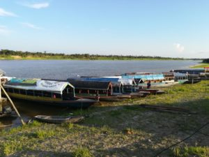 Boats at the Pier - Peruvian Amazon