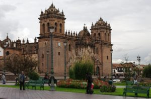 Estágio médico em um centro de saúde em Cusco