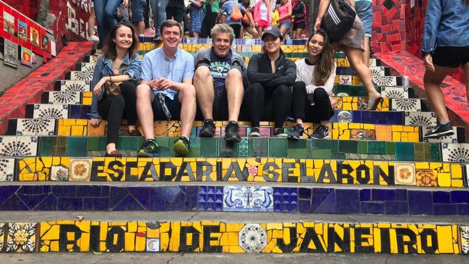 New Volunteers in Rio de Janeiro June 2018