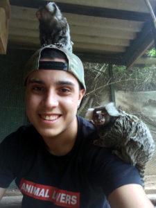 Pedro Henrique Voluntariado com animais selvagens na África do Sul