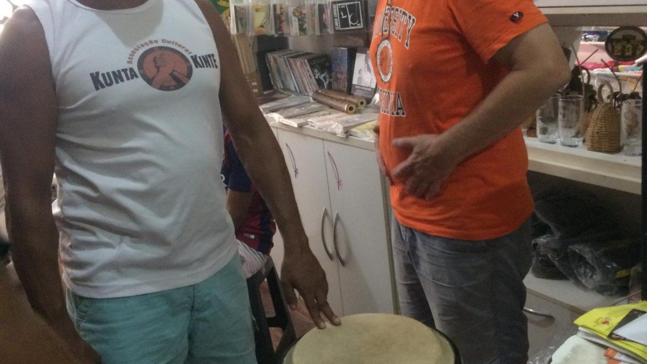 Afonso com Felipe