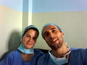 Magda Camaxide estágio médico no hospital pediátrico em Kathmandu