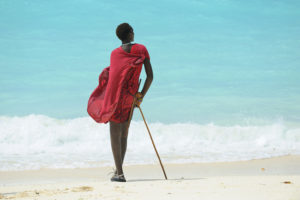 Tanzânia na praia