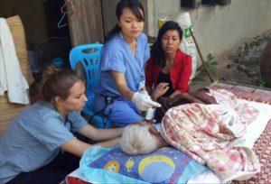 Estágio médico na Tailândia