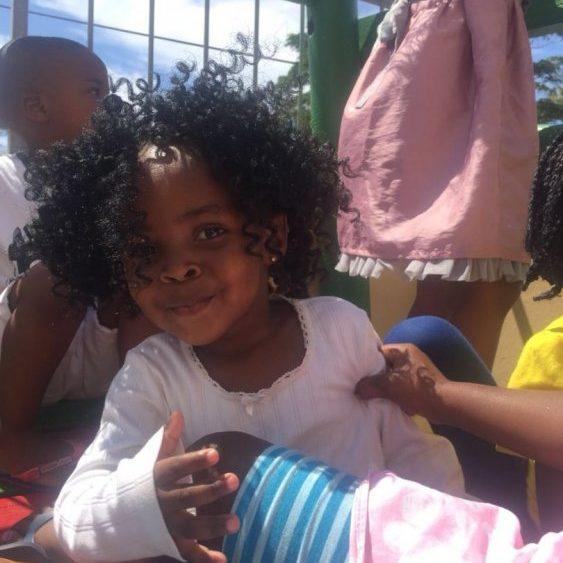 Crianças em Doreen's Creche