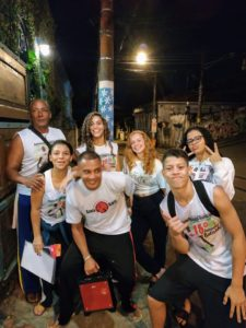 Rebecca's Family gets involved with volunteer work in Brazil