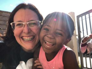 Melissa had a wonderful volunteer exerience in Cape Town South Africa