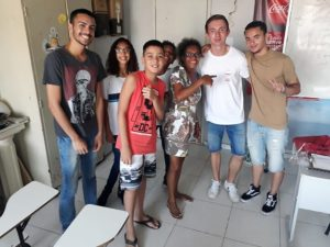 Lorenz with the Teaching Project in Rio