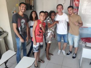 Lorenz with his English Students
